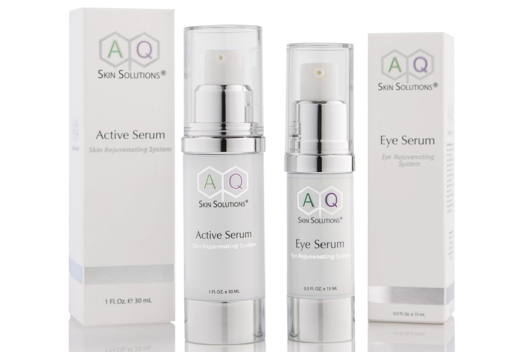 Review: AQ active and AQ eye serum